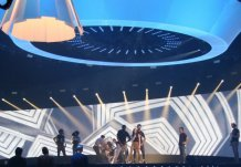 Eurosong 2014 projectie 1